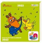 Der Kalender mit der Maus - Postkartenkalender 2022