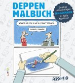 Deppen-Malbuch