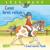 "LESEMAUS 206: ""Conni lernt reiten"" + ""Conni macht Musik"" Conni Doppelband"