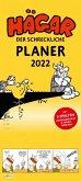 Hägar der Schreckliche - Planer 2022: Monatskalender für die Wand