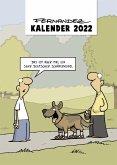 Fernandez Cartoon-Wandkalender 2022: Monatskalender