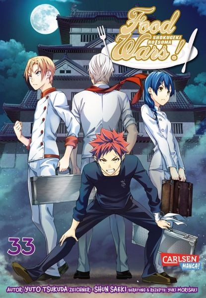 Buch-Reihe Food Wars - Shokugeki No Soma
