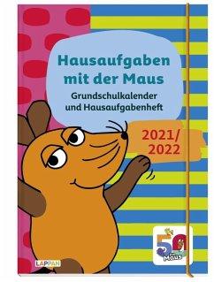 Grundschulkalender und Hausaufgabenheft mit der Maus 21/22 - diverse