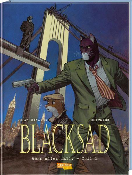Buch-Reihe Blacksad