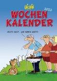 Uli Stein - Wochenkalender 2022: Taschenkalender mit Spiralbindung und Gummiband