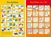 Mein Lernposter: 2er-Set Das Alphabet / Zahlen 1 - 20