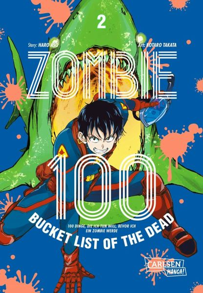 Buch-Reihe Zombie 100 - Bucket List of the Dead
