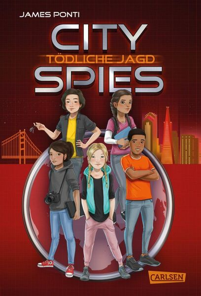 Buch-Reihe City Spies