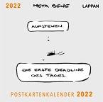 meta bene Postkartenkalender 2022