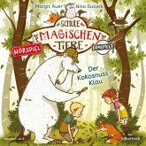 Der Kokosnuss-Klau (Zum Lesenlernen) / Die Schule der magischen Tiere ermittelt Bd.3 (1 Audio-CD)