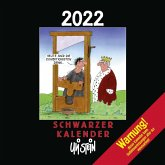 Uli Stein - Schwarzer Kalender 2022: Monatskalender für die Wand
