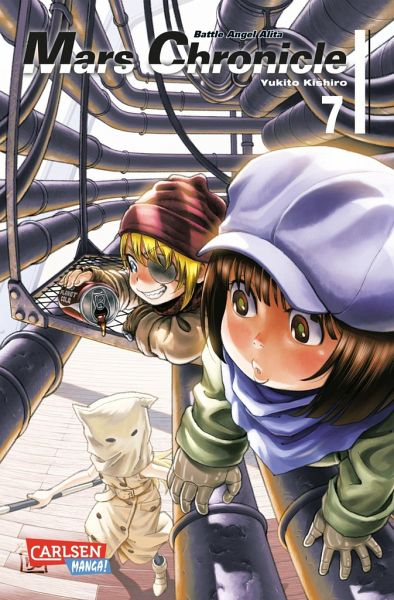 Buch-Reihe Battle Angel Alita - Mars Chronicle