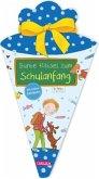 Schlau für die Schule: Bunte Rätsel zum Schulanfang mit Stickern (Schultüte für Jungen)