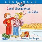 "LESEMAUS 207: ""Conni übernachtet bei Julia"" + ""Conni in den Bergen"" Conni Doppelband"