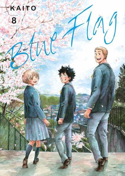 Buch-Reihe Blue Flag