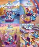 Nelson Mini-Bücher: 4er Disney T.O.T.S.: Tierbaby Transport Service 1-4