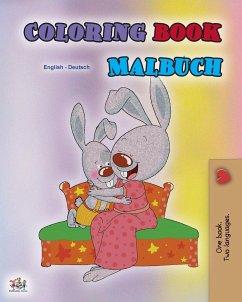 Coloring book #1 (English German Bilingual edition)