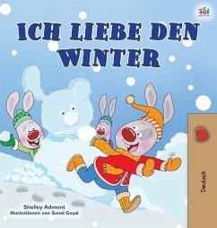 I Love Winter (German Book for Kids)