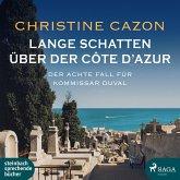 Lange Schatten über der Côte d'Azur / Kommissar Duval Bd.8 (1 Audio-CD)