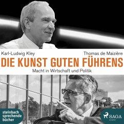 Die Kunst guten Führens, 2 MP3-CD - Maizière, Thomas;Kley, Karl-Ludwig