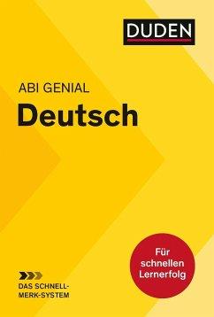 Abi genial Deutsch: Das Schnell-Merk-System - Bornemann, Monika;Bornemann, Michael;Schlitt, Christine