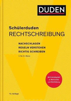 Schülerduden Rechtschreibung und Wortkunde (gebunden) - Schülerduden Rechtschreibung