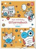 Mein zauberhaftes Glitzermalbuch - Eulen