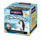 Carletto 2094904 - Brain Box, Tierkinder, Lernspiel, Denkspiel, Gedächtnisspiel, Konzentrationsspiel