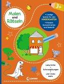 Malen und Rätseln - Lustige Spiele für den Kindergarten (3+)
