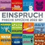 Einspruch 2022 Broschürenkalender
