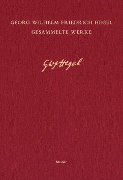 Gesammelte Werke / Vorlesungen über die Philosophie der Kunst III (eBook, PDF) - Hegel, Georg Wilhelm Friedrich