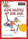Duden Minis (Band 40) - Kleine Malspiele mit Rabe Linus