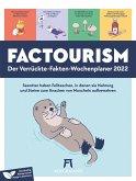 Factourism - Wochenplaner Kalender 2022