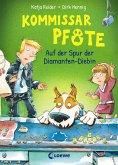 Auf der Spur der Diamanten-Diebin / Kommissar Pfote Bd.2