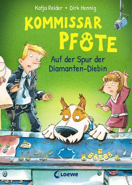 Buch-Reihe Kommissar Pfote