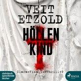 Höllenkind / Clara Vidalis Bd.8 (2 MP3-CDs)