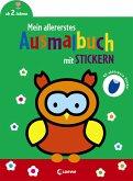 Mein allererstes Ausmalbuch mit Stickern (Eule)