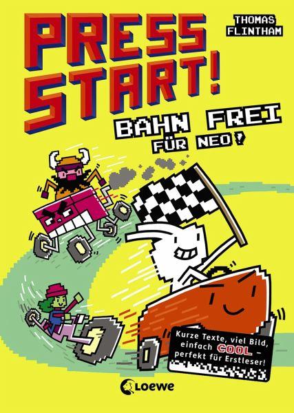 Buch-Reihe Press Start!