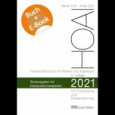 HOAI 2021 - Textausgabe mit Interpolationstabellen - mit E-Book (PDF)