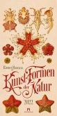 Kunst-Formen der Natur - Ernst Haeckel Kalender 2022