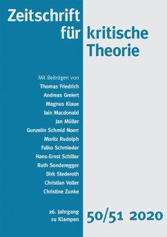 Zeitschrift für kritische Theorie, Heft 50/51 (eBook, ePUB)