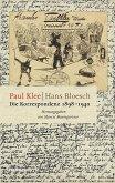 Die Korrespondenz 1898-1940