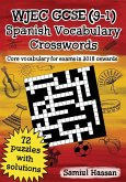 WJEC GCSE (9-1) Spanish Vocabulary Crosswords
