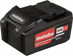 Metabo Akkupack 18V 4,0 Ah Li-Power
