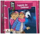 Legende der Einhörner / Die drei Ausrufezeichen Bd.73 (1 Audio-CD)