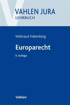 Europarecht - Hakenberg, Waltraud