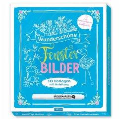 Trotsch Wunderschone Fensterbilder Mit Kreidemarker Mappe Mit Vorlagen Und Portofrei Bei Bucher De Bestellen