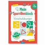 Trötsch Mein Spurrillenblock Vorschulübungen Übungsbuch