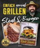 Einfach genial Grillen: Steak & Burger (eBook, ePUB)