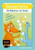 Konzentration - 30 Bildkarten für Kinder im Kindergarten- und Vorschulalter